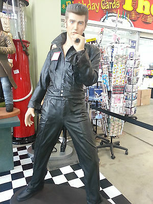 Elvis Standing with Mic Statue Elvis the king of Rock n Roll figurine