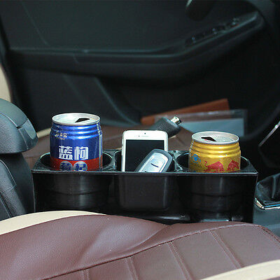 Auto Car SUV Seat Drink Cup Holder Valet Travel Coffee Bottle Food Mount Stand