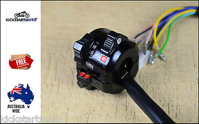 Left Hand Switch Assembly Block YAMAHA DT250 IT TT XT DT WR Early Vintage