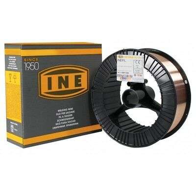 INEFIL NR Copper Free Mig Wire ER70S-6 1.0mm x 15Kg - Steel - General Purpose