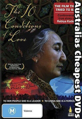 The 10 Conditions Of Love DVD NEW, FREE POSTAGE WITHIN AUSTRALIA REGION ALL