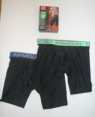 "2 Pair  9"" Inch  Under Armour Men's BoxerJock M L XX  XXX   XXXX  1306493 Briefs"