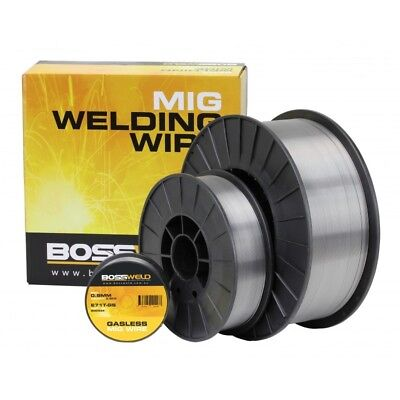 Bossweld Gasless GS E71T-GS Mig Wire x 0.8mm x 4.5 Kg - 200343