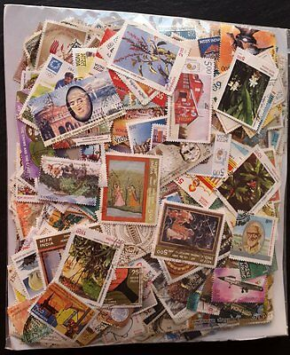 India, Huge Packet/Collection 1500 Different Stamps!!