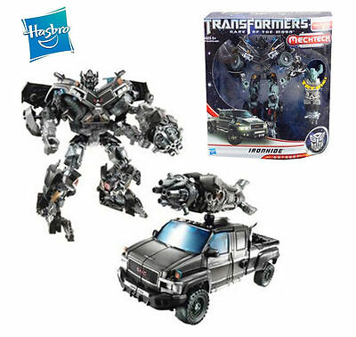 Hasbro Transformers Ironhide Mechtech Robot Truck Action Figures Boxed Kid Toy