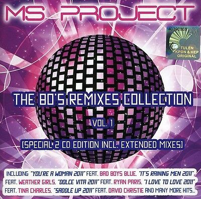 M.S. Project - 80's Remixes Collection [New CD] Asia - Import