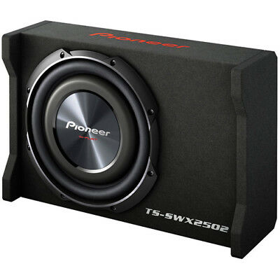 "Pioneer TS-SWX2502 10"" Subwoofer Enclosed Box with GEN PIONEER WARRANTY"