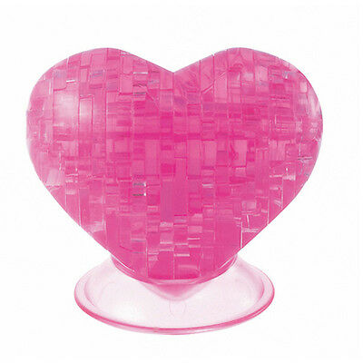 pink 44 Teile 3D Crystal Puzzle Schuh