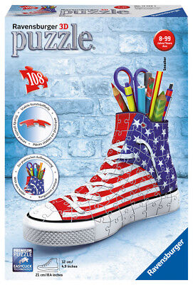 Ravensburger 12549 - 3D- Puzzle Sneaker American Style
