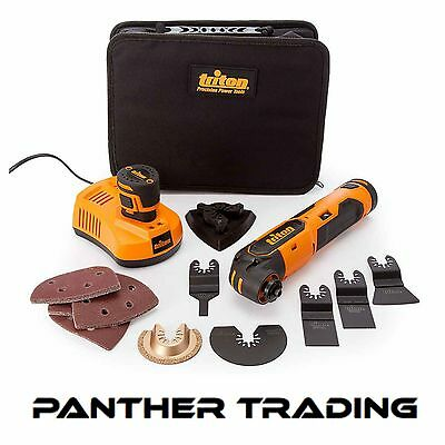 Triton Oscillating Multi-Tool 12V With 2 x 1.5Ah Batteries & Charger - 103691