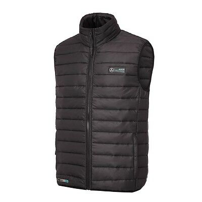 Mercedes AMG Petronas F1 Men's LIGHTWEIGHT PADDED GILET - Black
