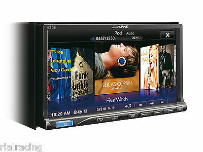"Alpine Ics-X8 Unidad Multimedia Cd/dvd/tactil/7""/bluetooth"