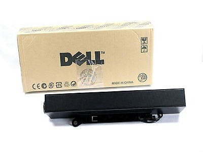 Dell Genuine OEM Flat Panel Sound Bar Stereo Computer Speaker 10W AX510