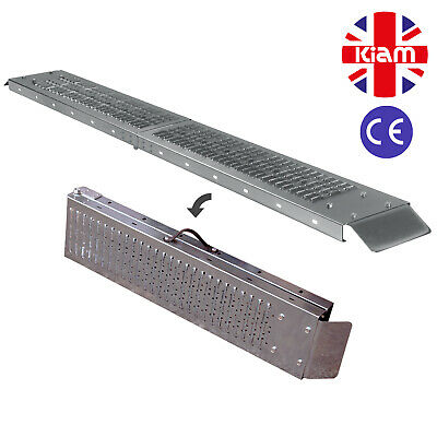 THREE Folding RAMPS 1.8m steel MOBILITY SCOOTER WHEELCHAIR TRIKE RAMP