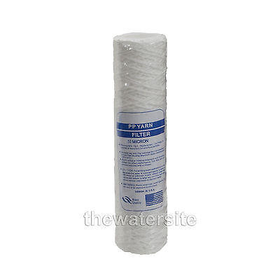 "10"" Bio-Diesel Vegetable Oil Wound Particle Filters 50 Micron Pack Of 1"