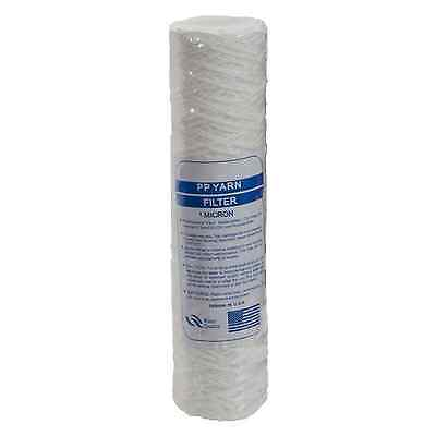 """10"""" Bio-Diesel Vegetable Oil Wound Particle Filters 1 Micron - 1 To 10 Packs"""