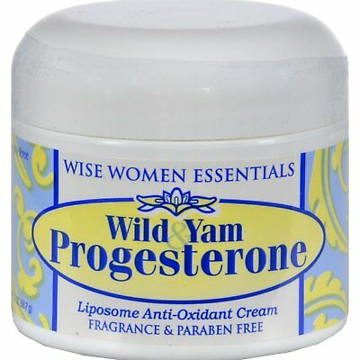 Wise Essentials Wild Yam & Progesterone Cream For Womens - 2 Ounce
