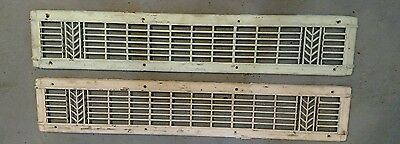 2 Reclaimed Vintage Deco Vent/Cold air return from a Louis Schwitzer Mansion