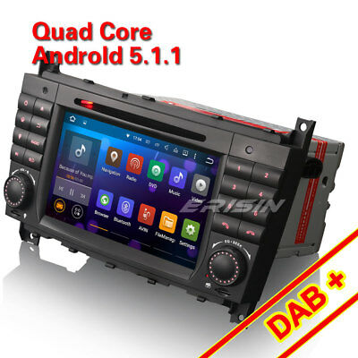 Quad-Core Android 5.1 Car Stereo For BENZ C/CLK Class W203 W209 DAB+ 3G 3069CU