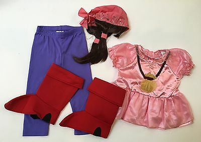 Disney Store Jake and the Neverland Pirates 2 Years 2T Izzy Toddler Girl Costume