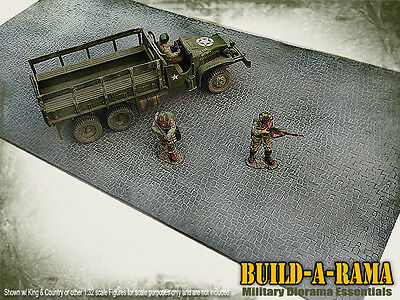 1:32 Cobblestone Diorama 24x12 Mat for King Country First Legion britains Conte
