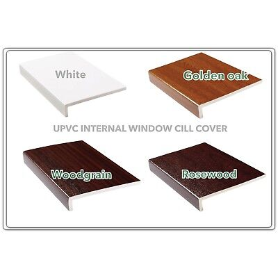 Plastic Window Sill/cill Cover, Cappit Sill, Upvc Reveal Liner, Fascia Cover