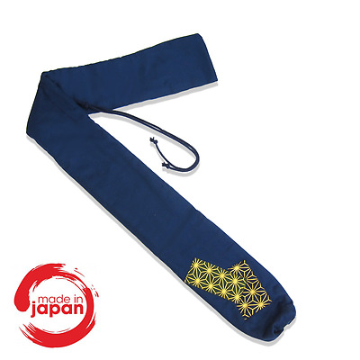 Long Padded Flute Bag and Plastic Sleeve for Your Shakuhachi from Japan!