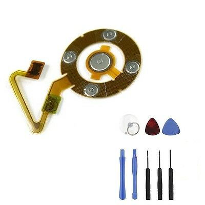 For iPod Nano 5 5th ClickWheel Click Wheel Flex Cable Replacement w/ Tools
