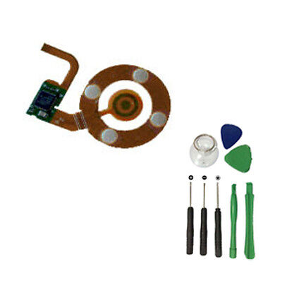 For iPod Nano 3 3rd Clickwheel Click Wheel Central Button Flex Cable w/ Tools