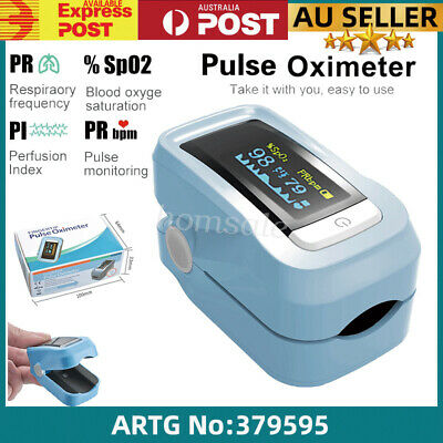 CE OLED Fingertip Pulse Oximeter W Audio Alarm Pulse Wave Sound Spo2 Monitor