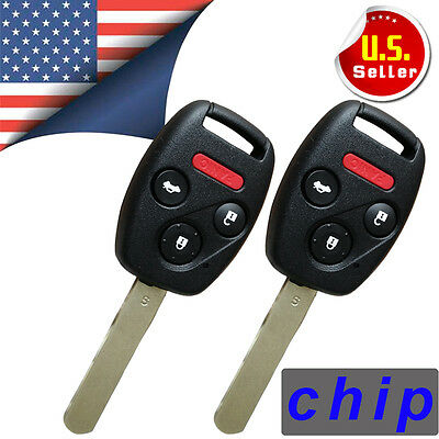 2 New Uncut Ignition Keyless Entry Remote Key Fob For OUCG8D-380H-A with 46Chip