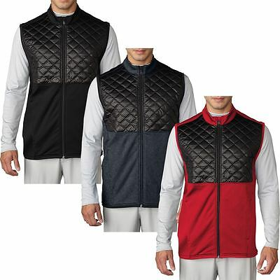 Adidas Golf 2016 Climaheat™ Prime Fill Gilet Insulated Quilted Mens Golf Vest