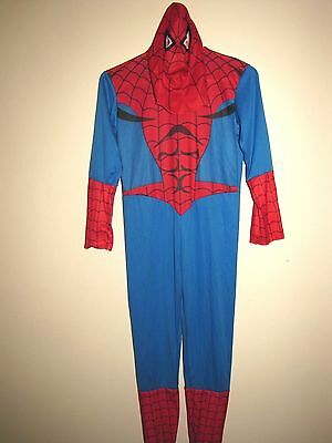 Marvel Spider Man Costume Sz. 10-12 Complete 2 Pc Body Suit & Mask 2009