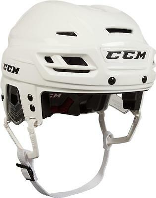 NEW CCM Resistance Helmet SIZE -SENIOR WHITE R.E.D. System reduces FREE SHIPPING