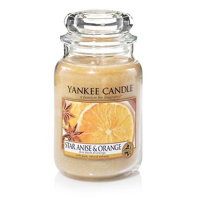 Yankee Candle Duftkerze Housewarmer Star Anis & Orange (623g)