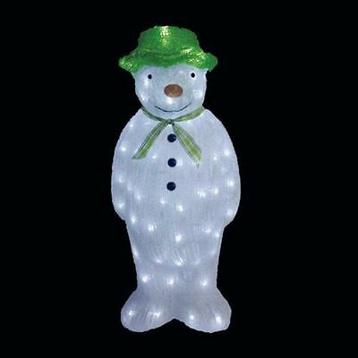 Outdoor Light Up Christmas The Snowman Led Lights Garden & Outdoor Light Up Snowman Christmas - Democraciaejustica