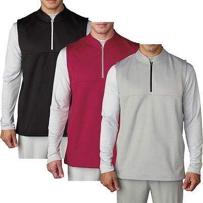 Adidas Climawarm Debossed Iconic Gilet Breathable Insulation Mens Golf Vest