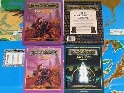 KARA-TUR THE EASTERN REALMS Forgotten Realms Box Set Dungeons & Dragons AD&D