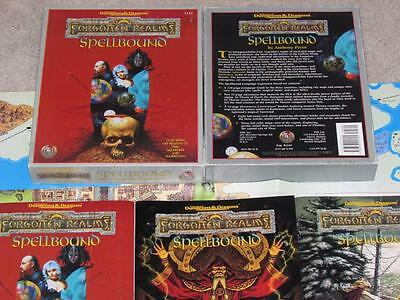 SPELLBOUND Forgotten Realms VF! 100% Complete Box Set Dungeons & Dragons ad&d