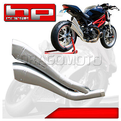 Monster 1100 EVO 2013 13 DUCATI POT D'ECHAPPEMENT HP CORSE HYDROFORM