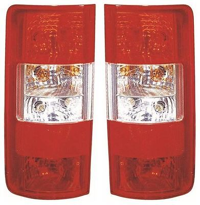 Ford Transit Connect 2002-2009 Rear Tail Light Lamps Left & Right Pair