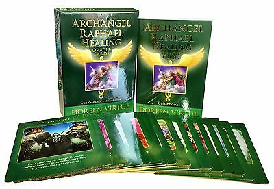 Archangel Raphael Healing Oracle Tarot Cards Deck Doreen Virtue Psychic Reading