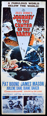 JOURNEY TO THE CENTRE OF THE EARTH 1959 James Mason Pat Boone Arlene Dahl INSERT