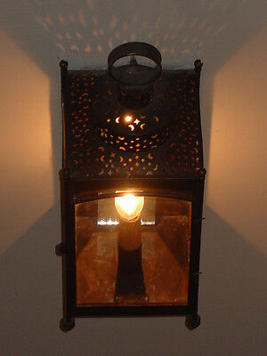 Period Lighting Lantern•Exceptional Reproduction•Handmade•Aged Tin•Historical