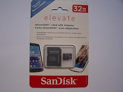 SanDisk 32GB Micro SD SDHC Class 4 TF Flash Memory Card Adapter Lot