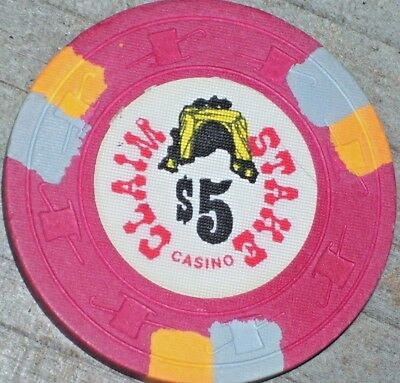 $5 1St Edt Chip From The Claim Stake Casino Sparks Nv