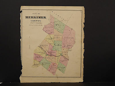 New York, Herkimer County Map, 1868 P3#07