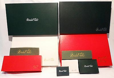 Lot of 10 Vintage Marshall Field's Department Store Gift boxes CHICAGO HISTORY