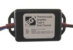 EGT Dual  K-Type Thermocouple Convertor to 0-5V 5 volts