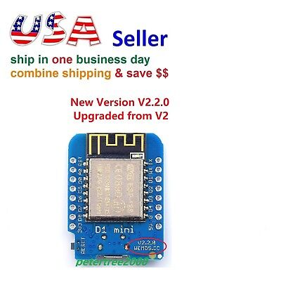 New Version V2.2 D1 Mini NodeMcu WiFi Internet of Things Development Board WeMos